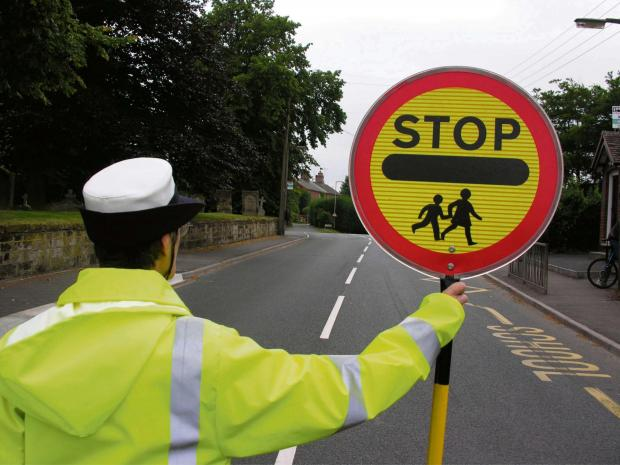 ON GUARD: Community councillors have called for PCSOs to attend Cefneithin School following the departure of the crossing guard.