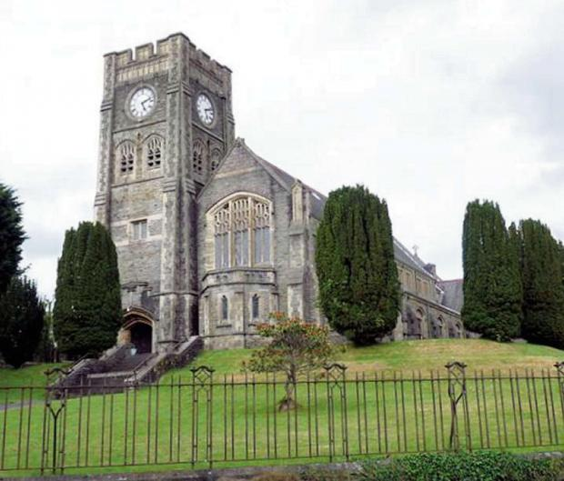 South Wales Guardian: BOOST: The All Saints Church restoration project has received a £49,500 cash grant from CWM Environmental Ltd.