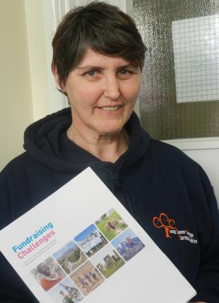 ORIENTAL EXPRESS: Towy Valley postwoman Cheryl Pugh-Jones will be walking the Great Wall of China to raise funds for the Lung Cancer Campaign Carmarthenshire.
