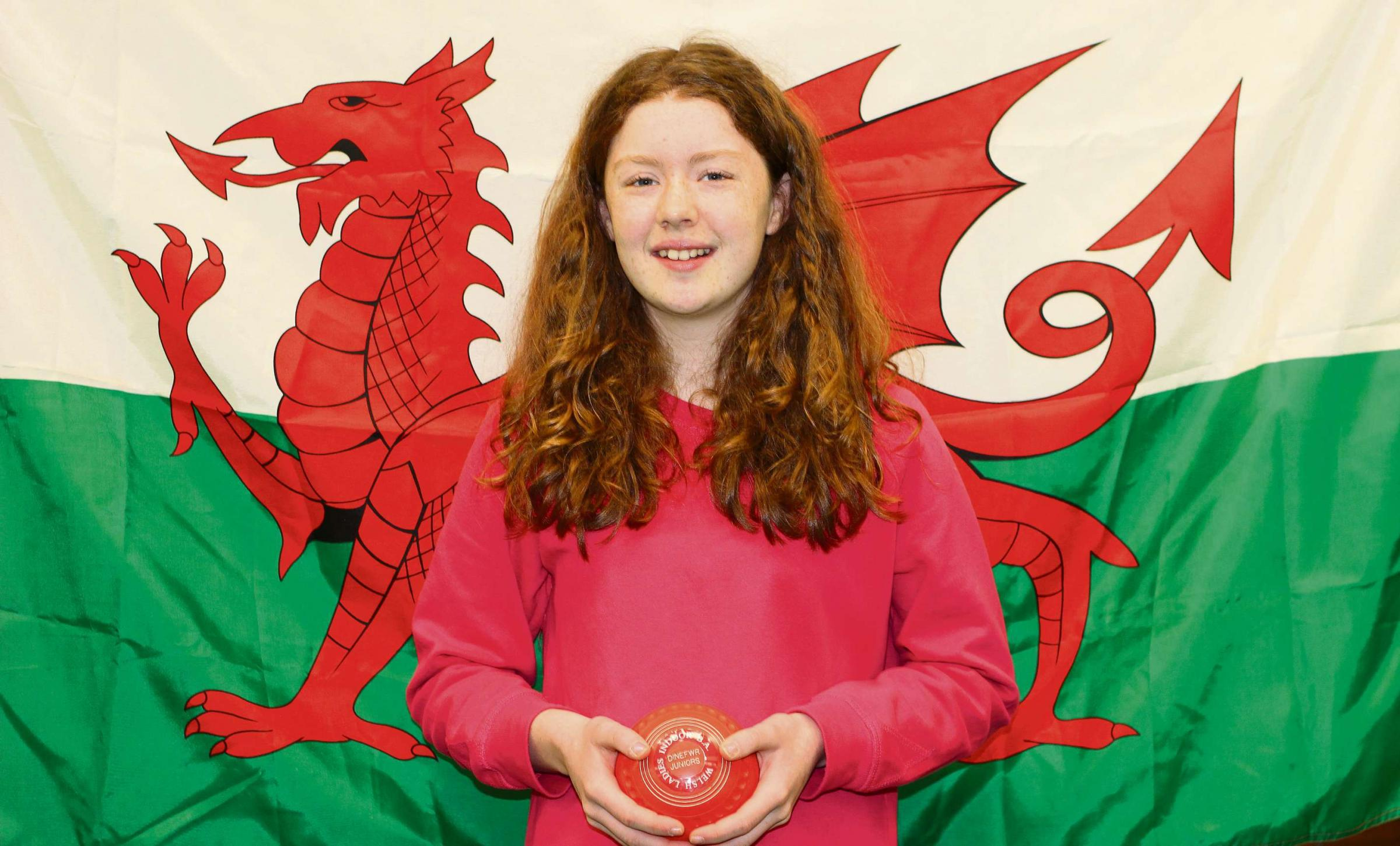 TEEN TALENT: Ffion Jones of Cwmgors, a member of Dinefwr Indoor Bowls Centre's Junior Section, has recently been selected to play for Wales.