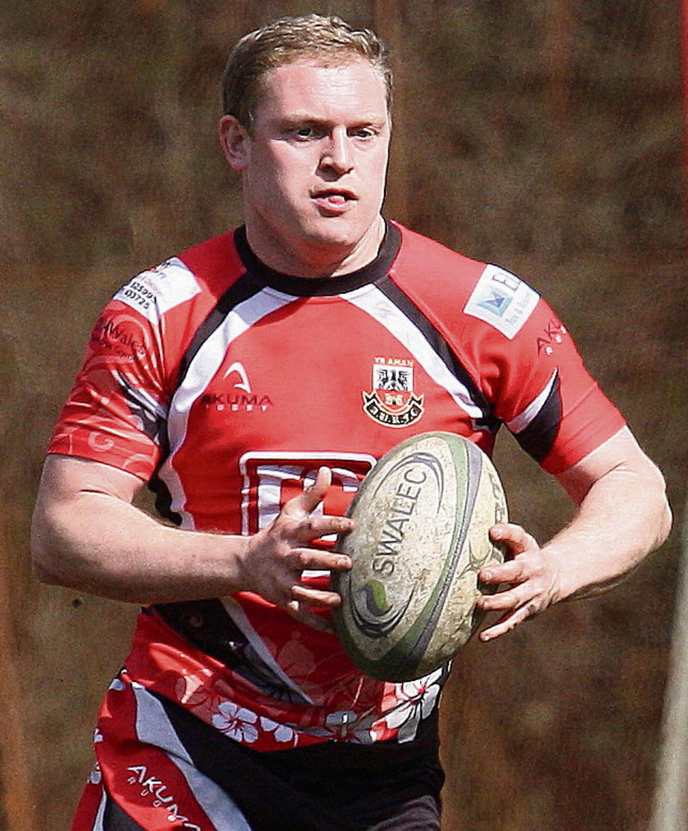 CRUCIAL: A late Rhys Thomas penalty ensured Amman secured victory at Aberavon Quins.