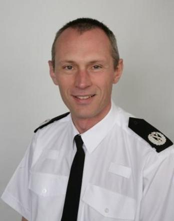 STEPPING UP: Carl Langley is the new Deputy Chief Constable of Dyfed Powys Police