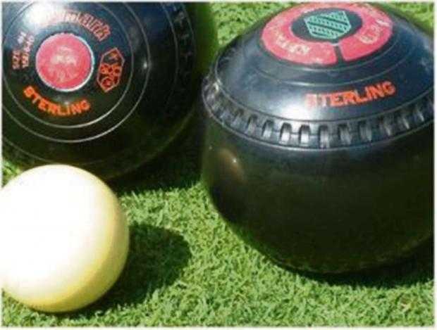 South Wales Guardian: BOWLING ACTION: Gwaun cae Gurwen beat Briton Ferry Combine in the Neath and District Bowls league.