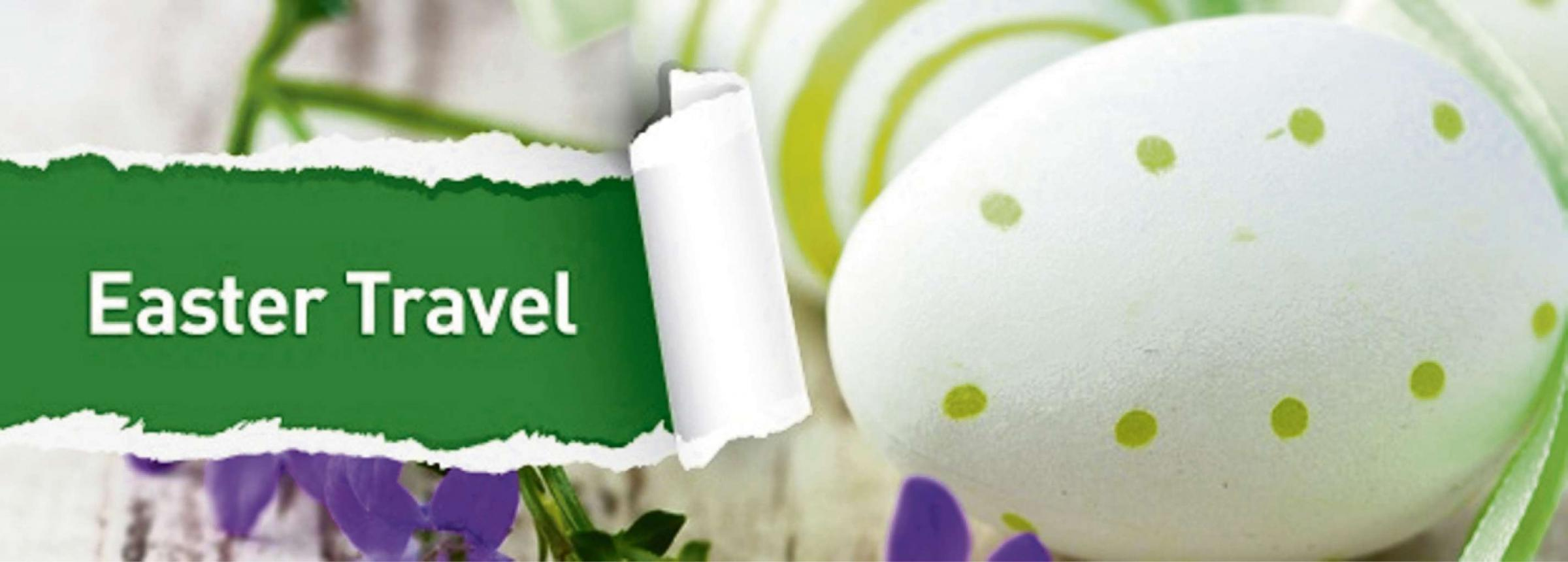 TAKING A TRIP: County residents have been urged to check their travel plans over the Easter holidays.