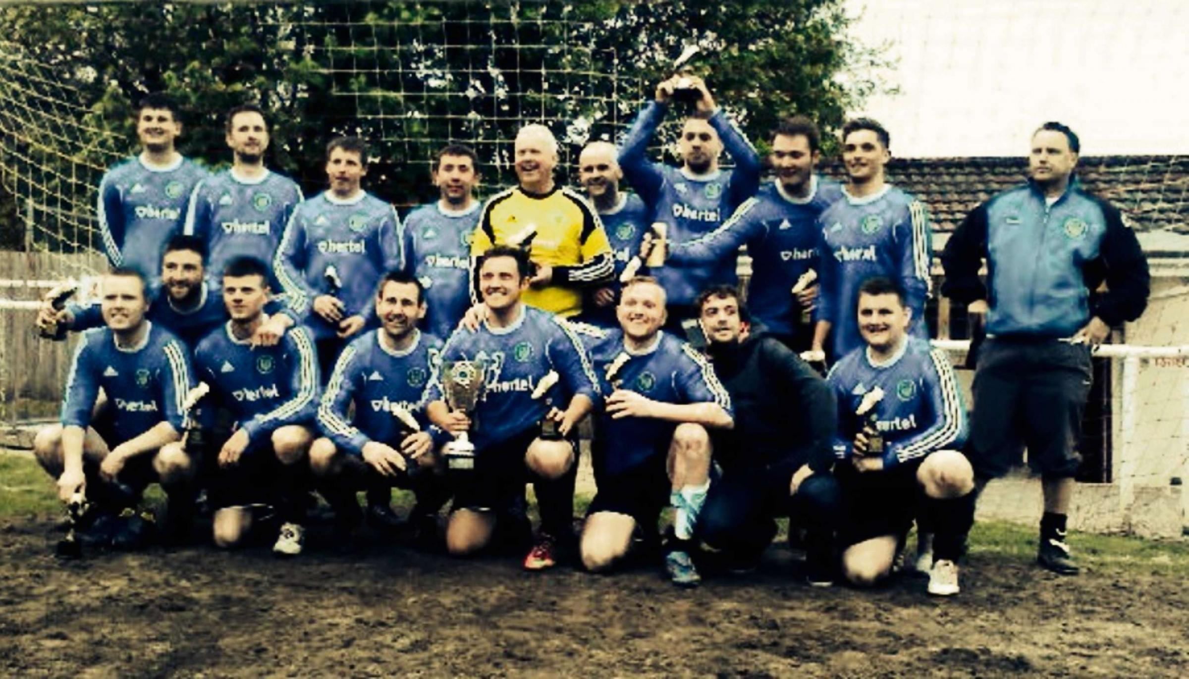 CLOUD NINE: Cwmamman United claimed a 9-0 Reserve Division Two Cup final victory.