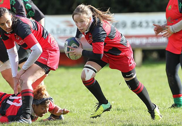 CAPTAIN CAT: Panthers skipper Catrin Rees is dreaming of lifting the WWRU Sup Cup Vase. Pic: Rileysportsphotography.com