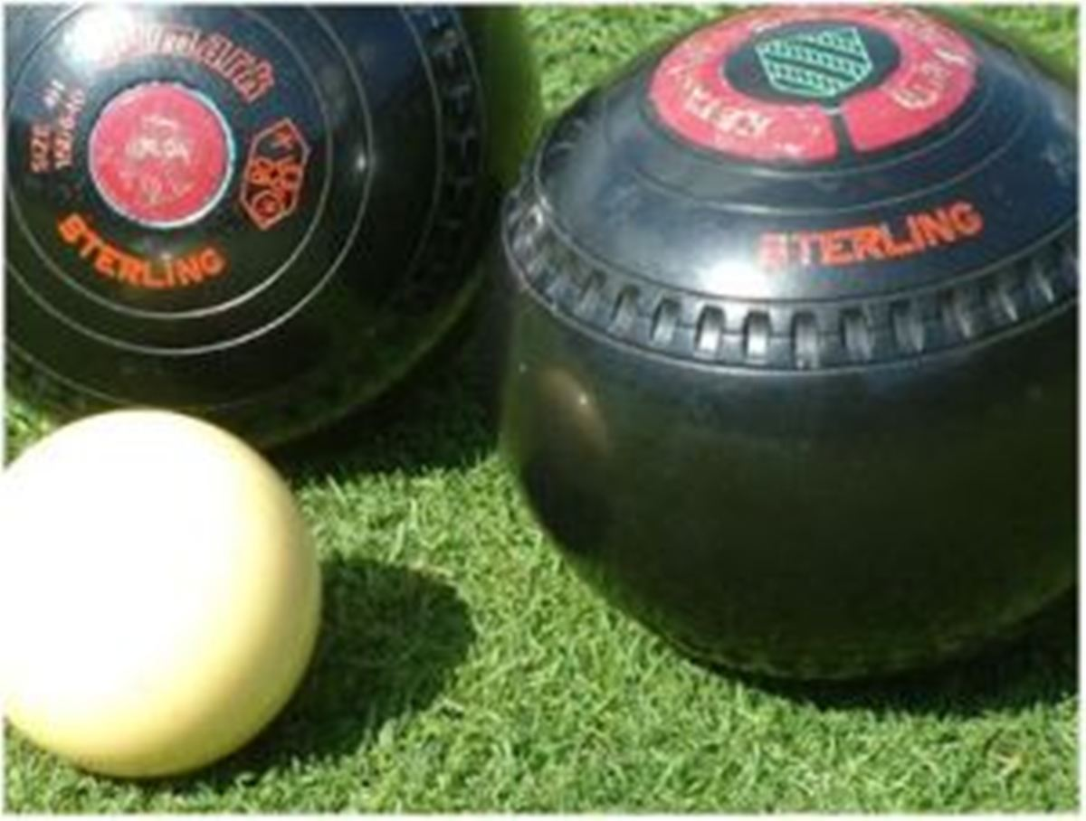 FEELING GREEN: Cwmaman lost at Parc Howard in the Llanelli and District Bowls League.