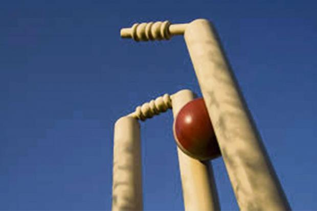 YOUNG GUN: Thirteen-year-old Rhys Jones batted to an unbeaten 40 to take Ammanford to victory.