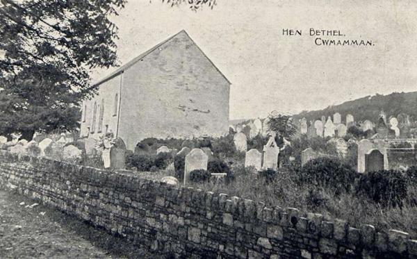 THE MISTS OF TIME: Hen Bethel Chapel in early 1900's. Also known locally as