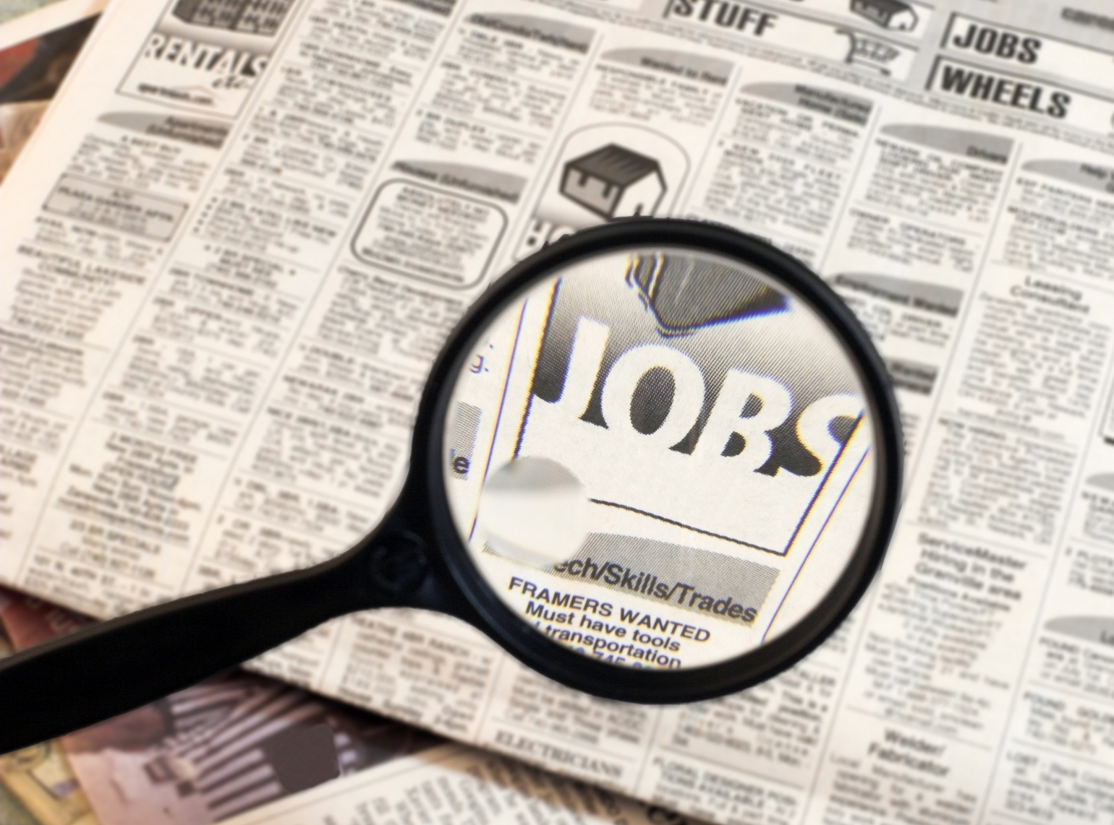 GREEN SHOOTS: A fall in the number of Jobseekers Allowance cla