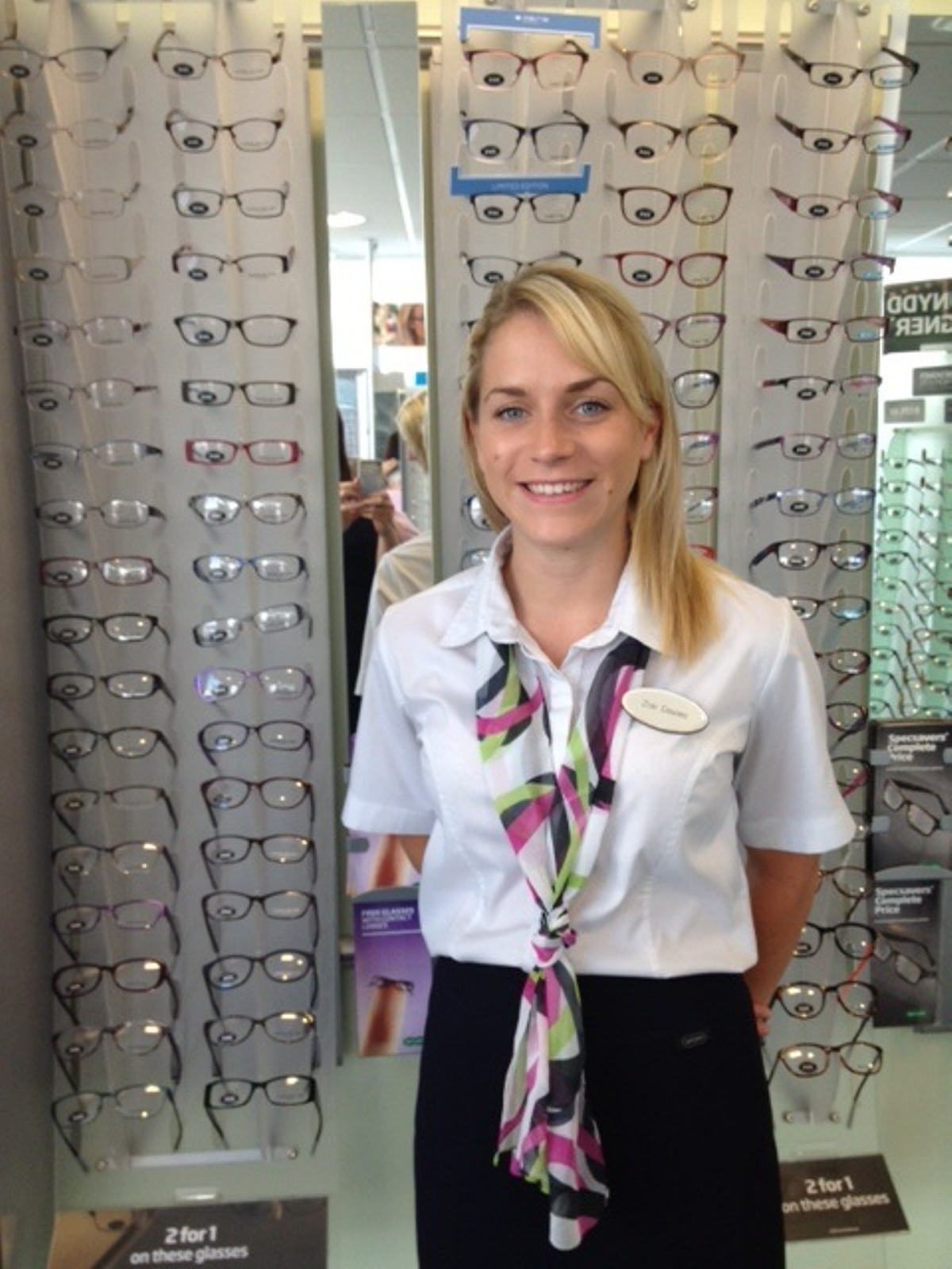 Optician Zoe looking to jump into fundraising From South Wales – Optician Assistant