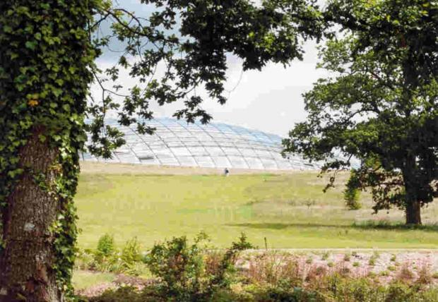 JUST GRAND: Carmarthenshire 50+ Forum has organised its most ambitious annual event in the shape of a Grand Day Out at the National Botanic Garden on Friday, September 19, hosted by entertainer Roy Noble.