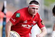 OPERATION: Scarlets skipper Ken Owens injured his neck in training last week.