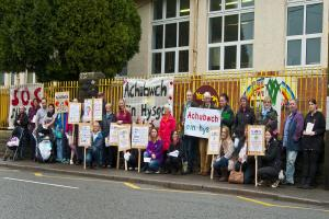 Amman Valley school hosts open day ahead of closure