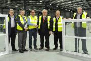Europe's biggest sash window manufacturer Victorian Sliders is set to invest millions at its new base on the site of the former Dewhirst premises in Capel Hendre. Company directors Scot Starky and Brendan McCambridge showed Carmarthenshire county council