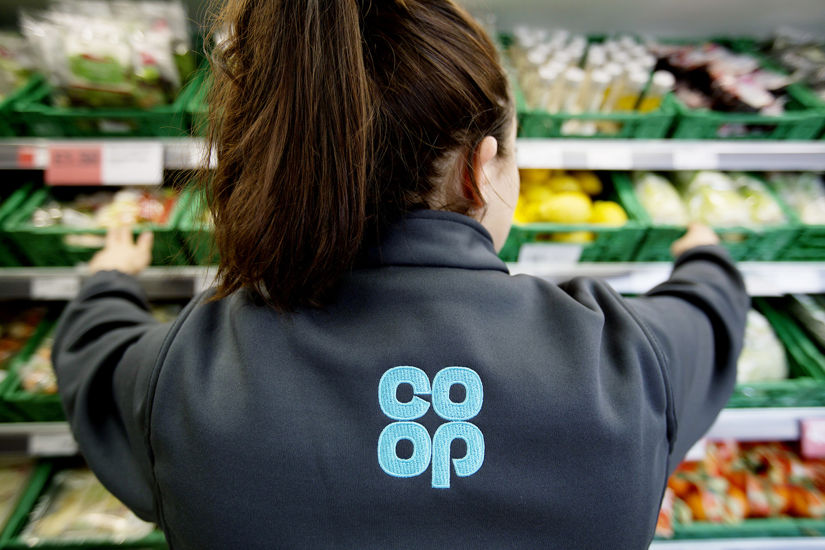 Co-op Llandovery is currently undergoing a £1million transformation. Picture by Jon Super.