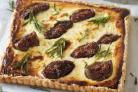 Undated Handout Photo of the Goat's Cheese, Fig and Rosemary Tart, available from Cook. See PA Feature FOOD Oliver. Picture credit should read: PA Photo/Handout. WARNING: This picture must only be used to accompany PA Feature FOOD Oliver..
