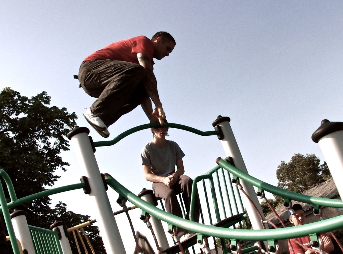Mike Newman has helped make Parkour become a recognised sport.