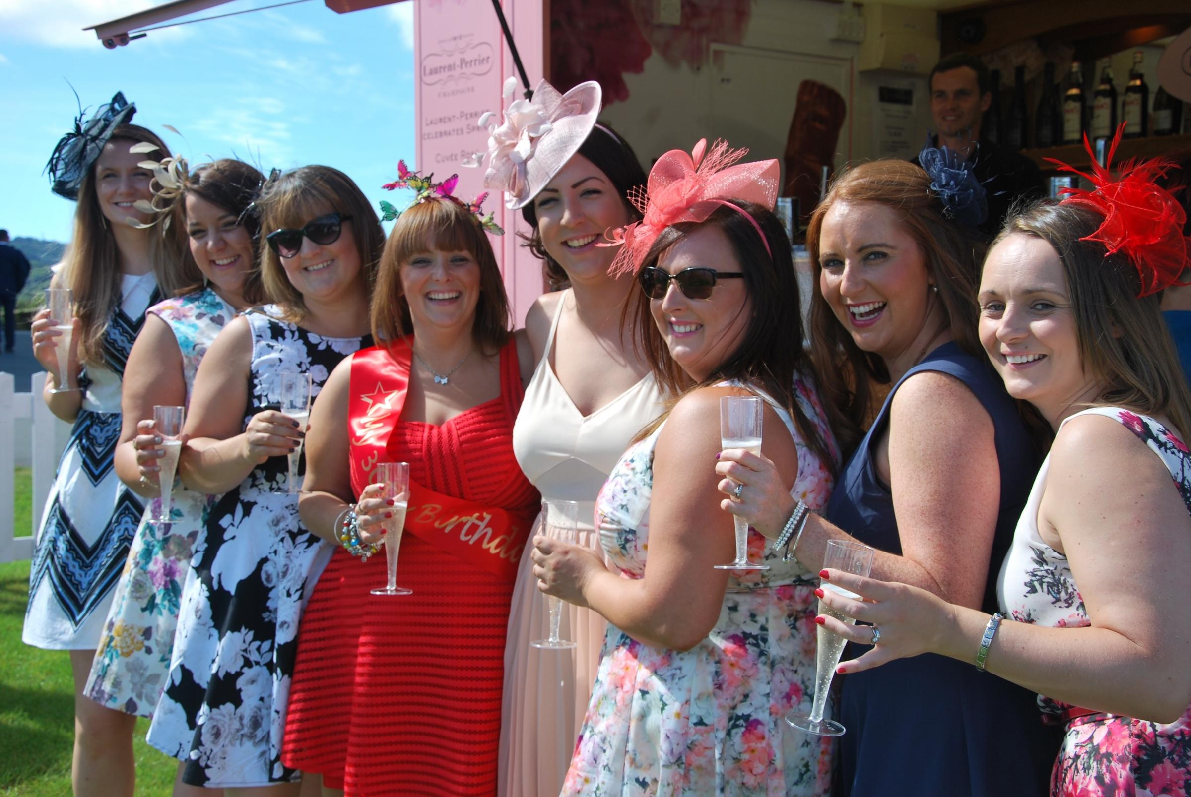 Ffos Las Racing and Events' annual Ladies Night on Bank Holiday Saturday, May 27