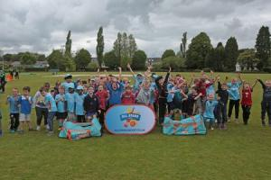 65 young people turned up at the All Stars Cricket session at Ammanford Cricket Club last weekend.