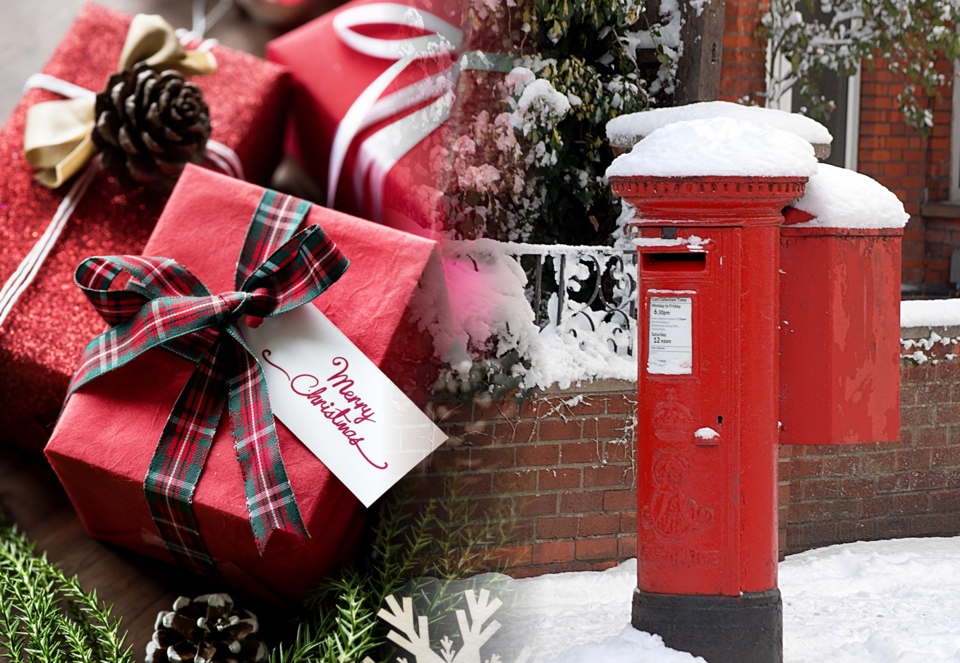 The last date for first-class mail within the UK is December 20.