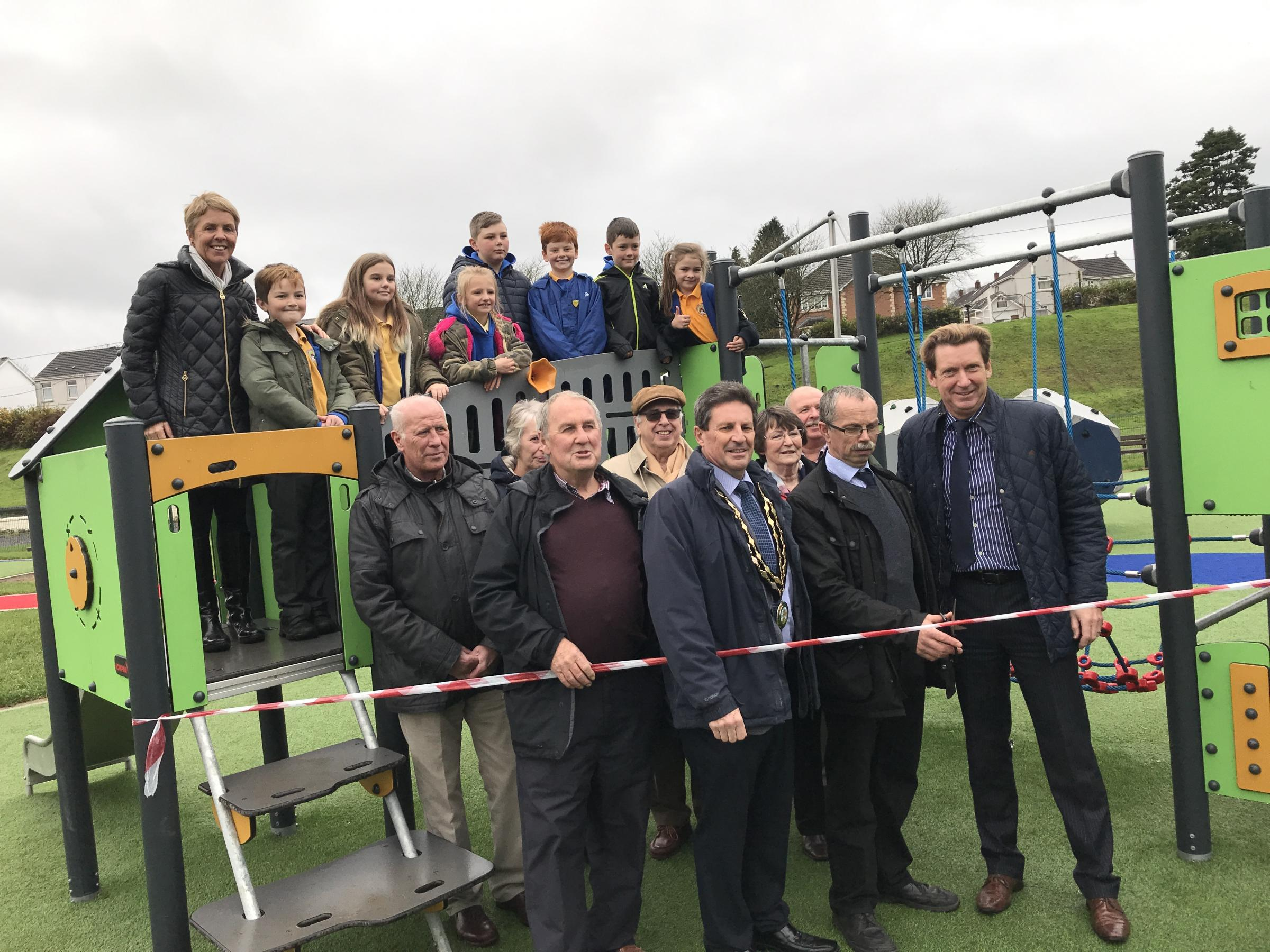 Offical opening of Hendy Park