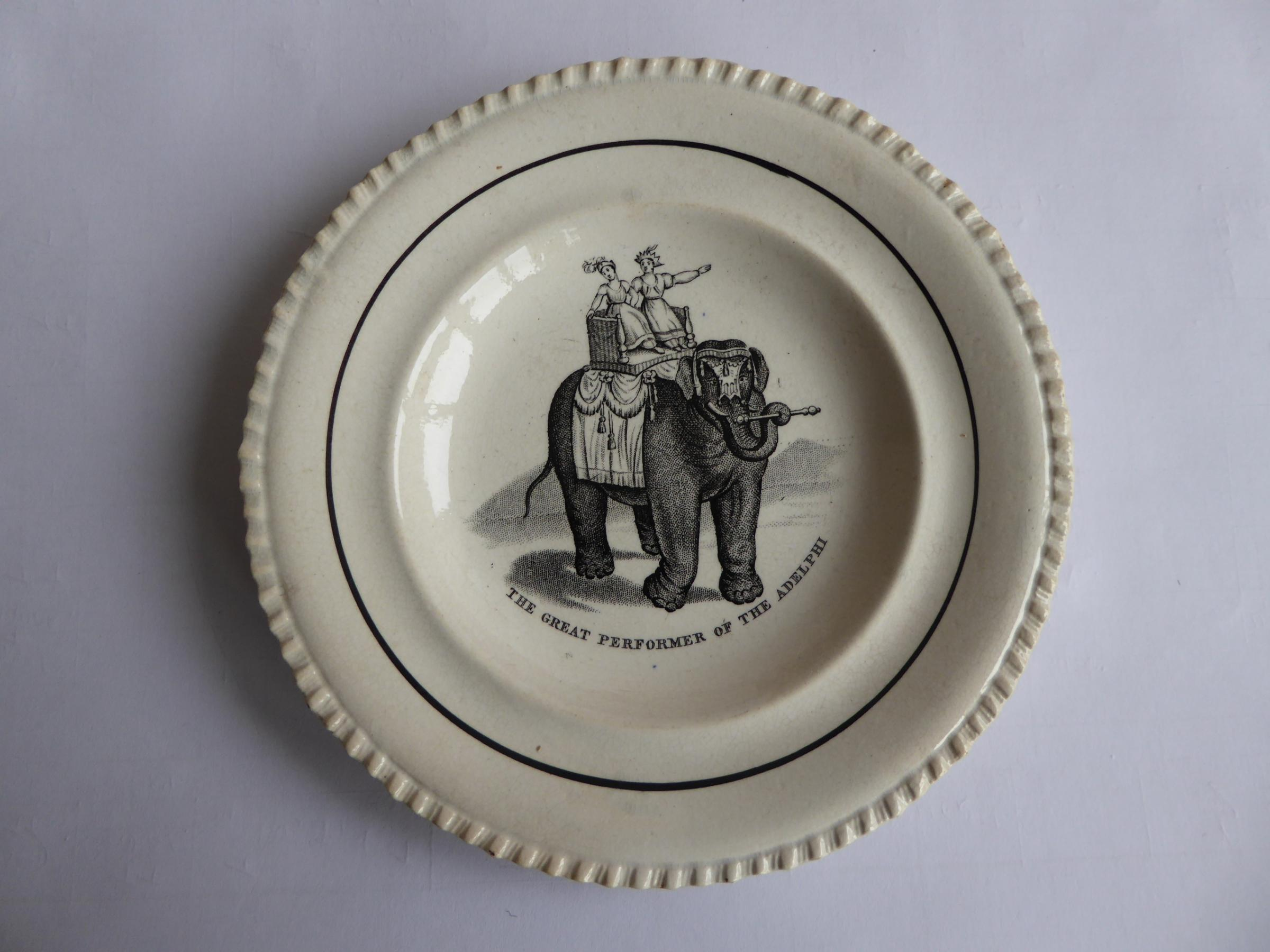 A child's plate featuring Mademoiselle D'Jeck is expected to attract some interest at Carmarthen Antqiues and Flea Market this month