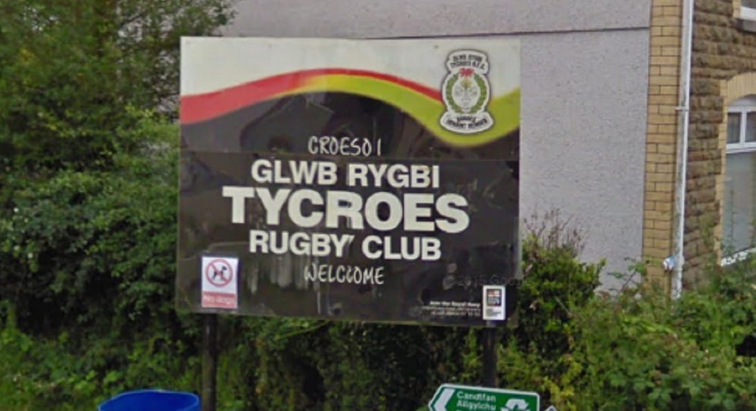 An incident occured at Tycroes Rugby Club on December 22