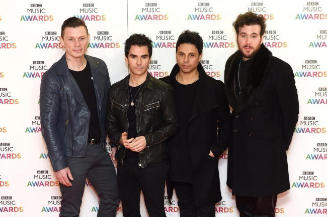 Richard Jones, Kelly Jones, Adam Zindani and Jamie Morrison of the Stereophonics (Joe Giddens/PA)