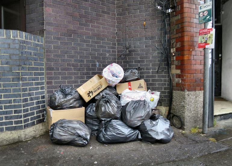 Generic image of flytipping - credit Flickr/Alan Stanton