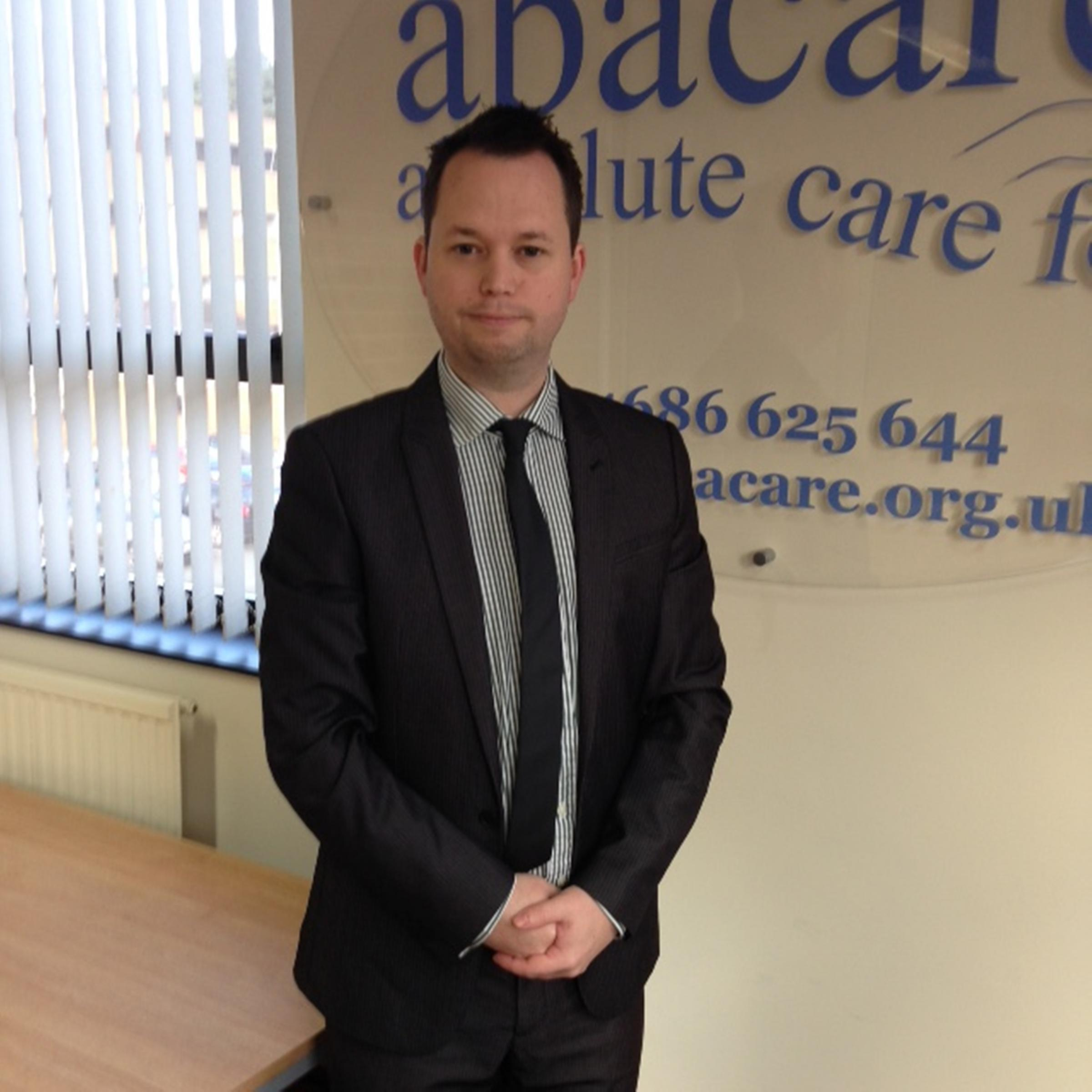 Sam Evans, Registered Manager at Abacare, which is hosting a Respite Care Awareness Week.