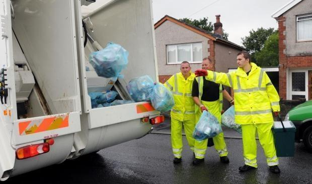 Bank Holiday bin collection dates for Carmarthenshire.