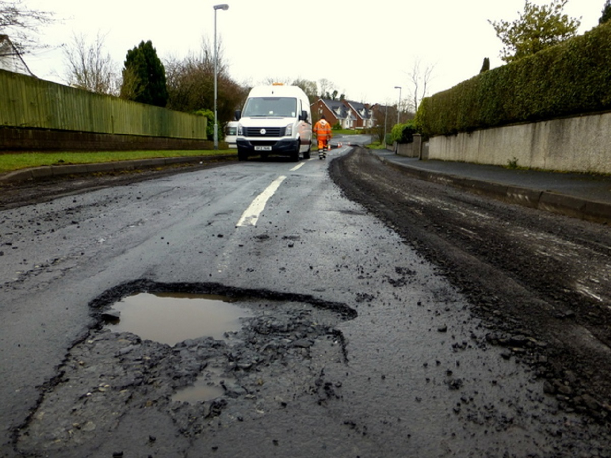 Carmarthenshire Council received 33 pothole damage claims in 2017/18 compared to 15 the previous year.