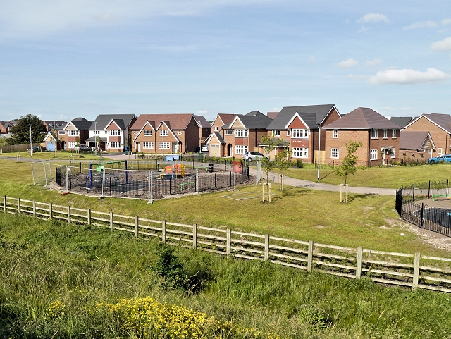 Generic image of a new housing site (Photo Creative Commons/David Dixon)