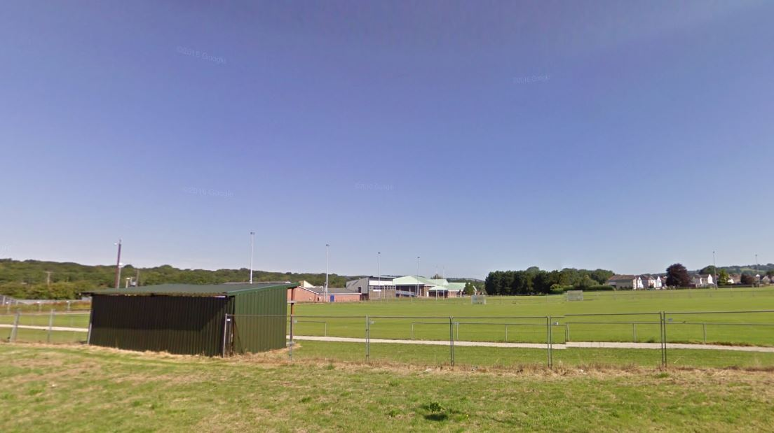 Ammanford AFC\'s Recreation Ground, which needs upgrading to meet league guidelines