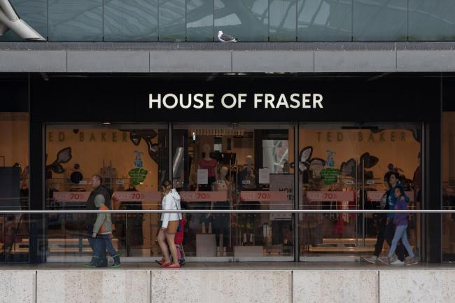 Sports Direct Launches Negotiations With House Of Fraser Landlords