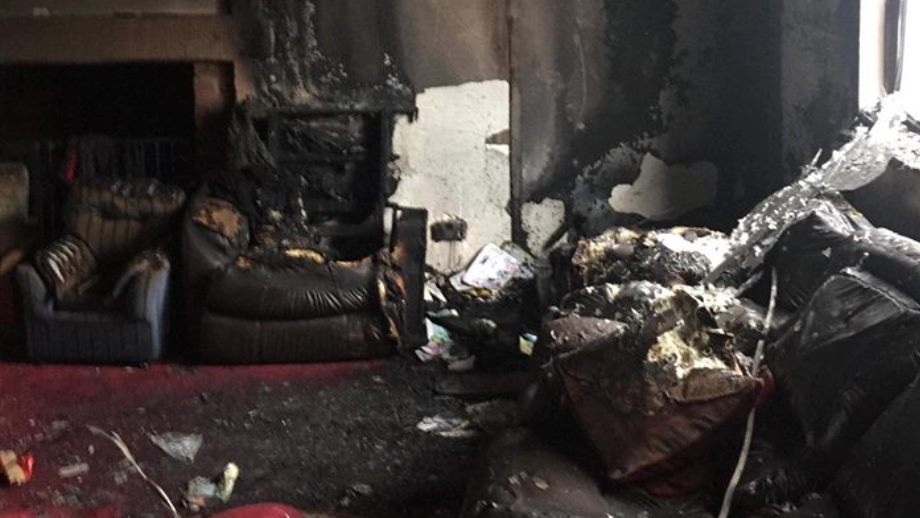 Family left homeless after house fire