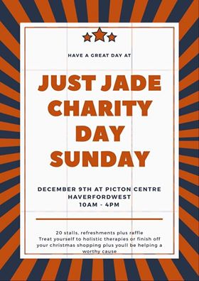 Just Jade Charity Craft and Therapy Day