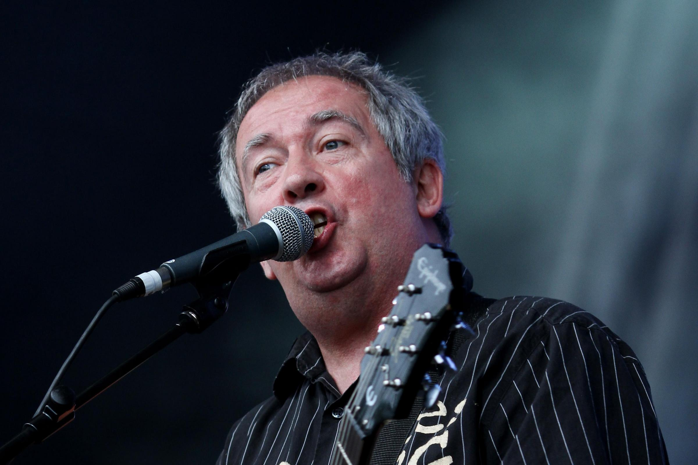 Pete Shelley of Buzzcocks