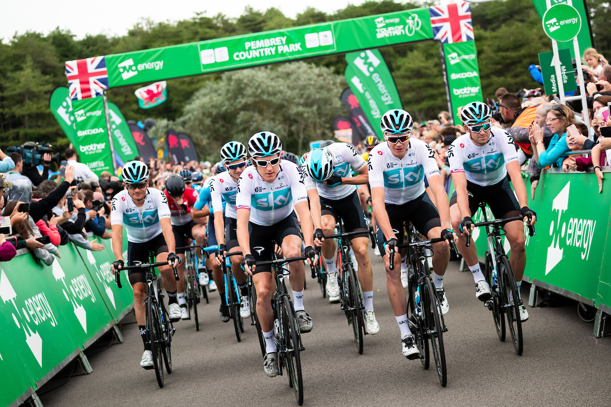 The OVO Energy Tour of Britain has been nominated for a prestigious Sporting Event of the Year award