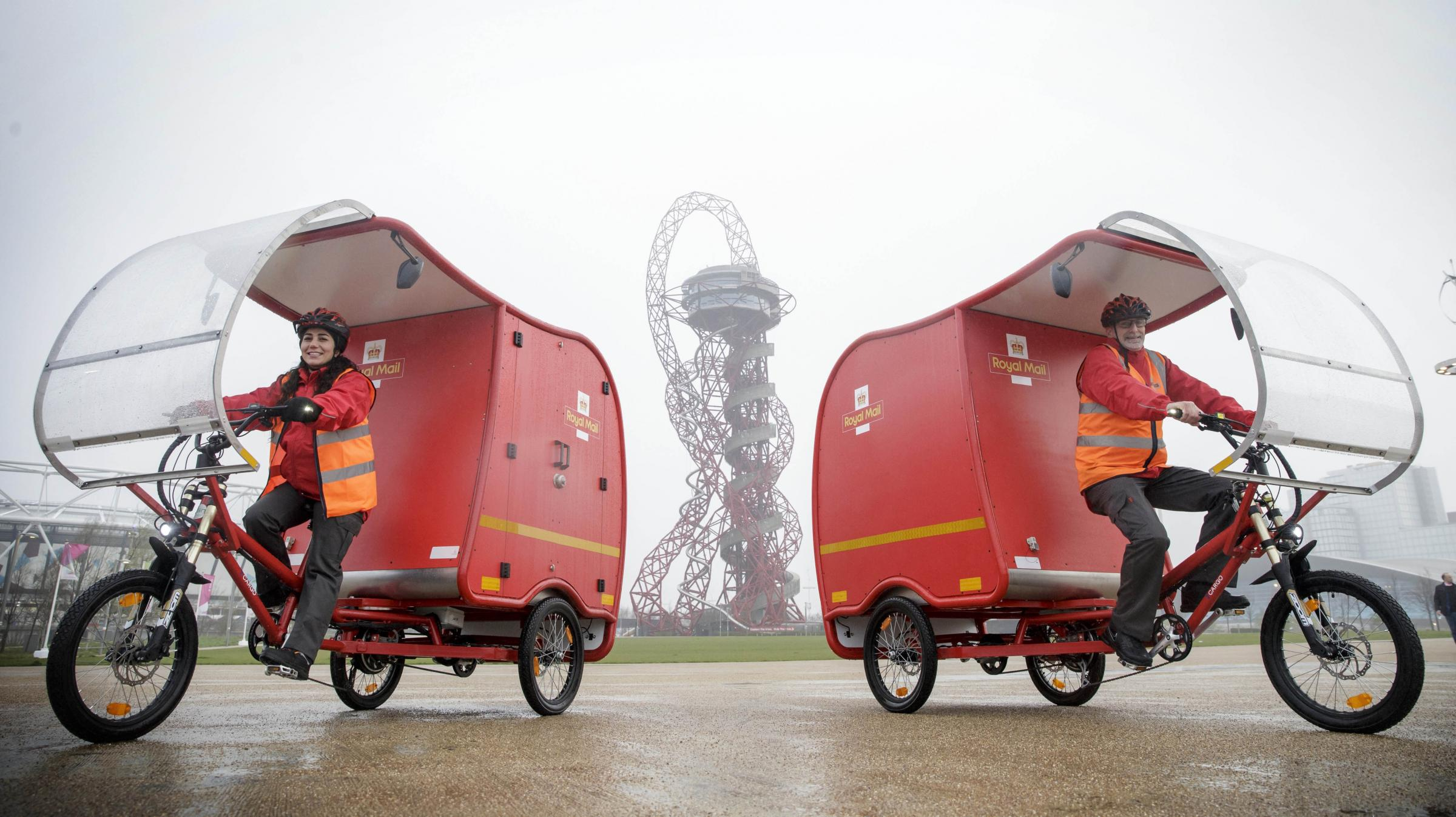 The Royal Mail is trialling solar-powered e-Trikes for deliveries