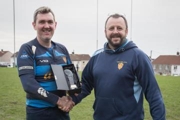 Cwmllynfell rugby stalwart honoured
