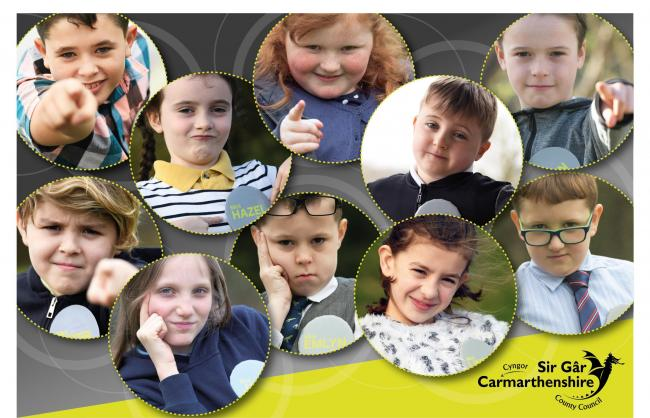 Carmarthenshire County Council has recruited 10 Mini Executive Board members