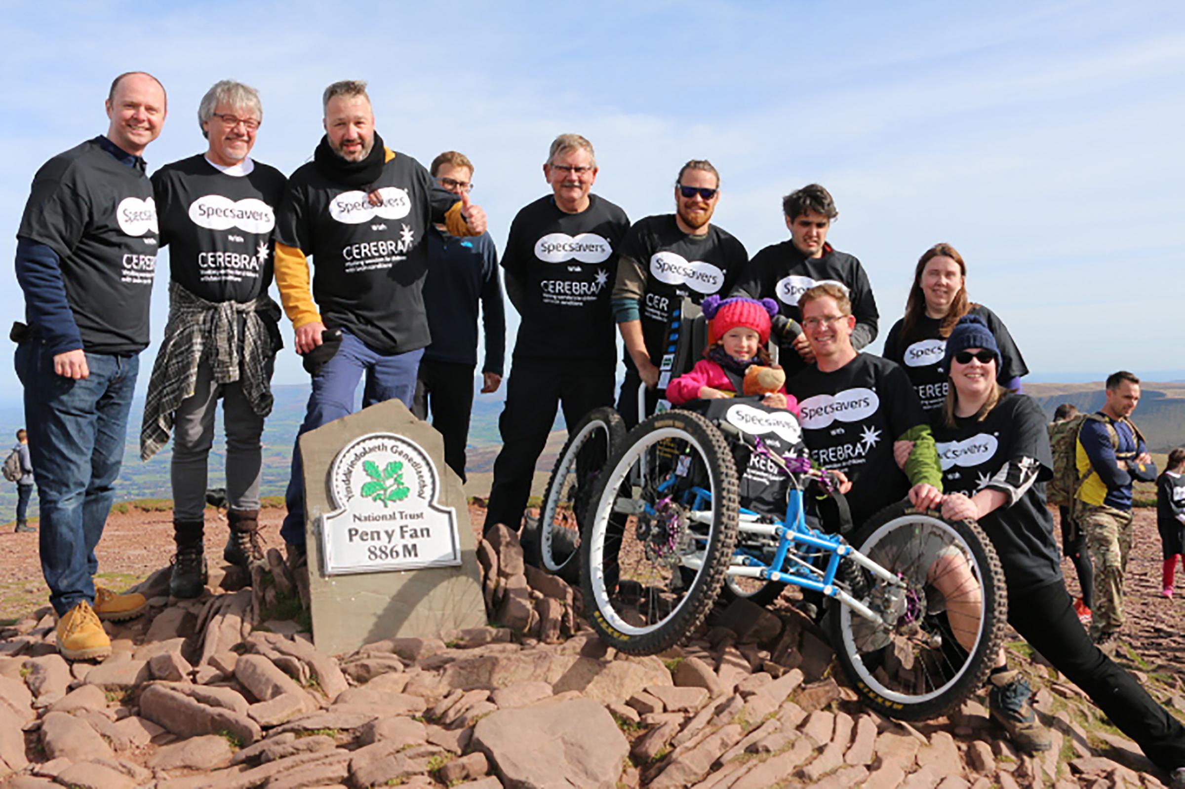 Specsavers Ammanford donates almost £20,000 to Cerebra