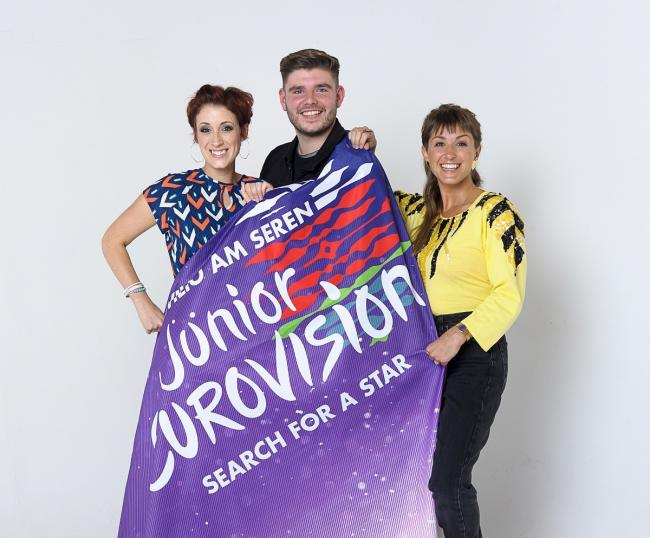 Connie Fisher., Lloyd Macey and Tara Bethan are the mentors for Junior Eurovision