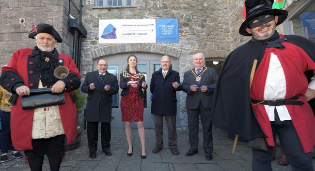 Y Gannwyll  is a new museum and tourist information centre based in the former Heritage Centre building in Llandovery