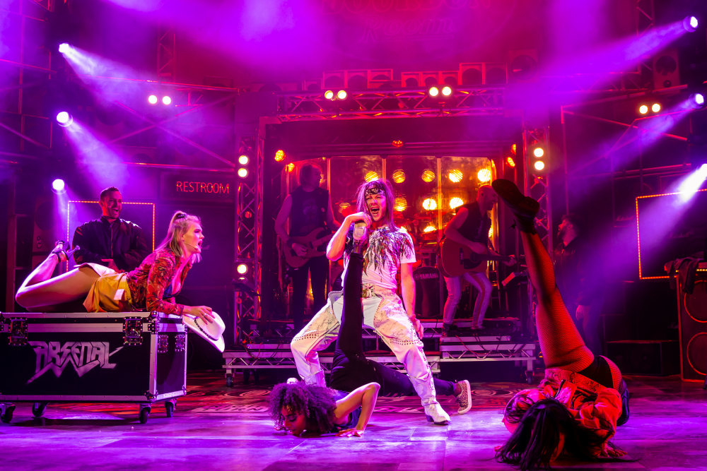 Rock of Ages is coming to Swansea this month