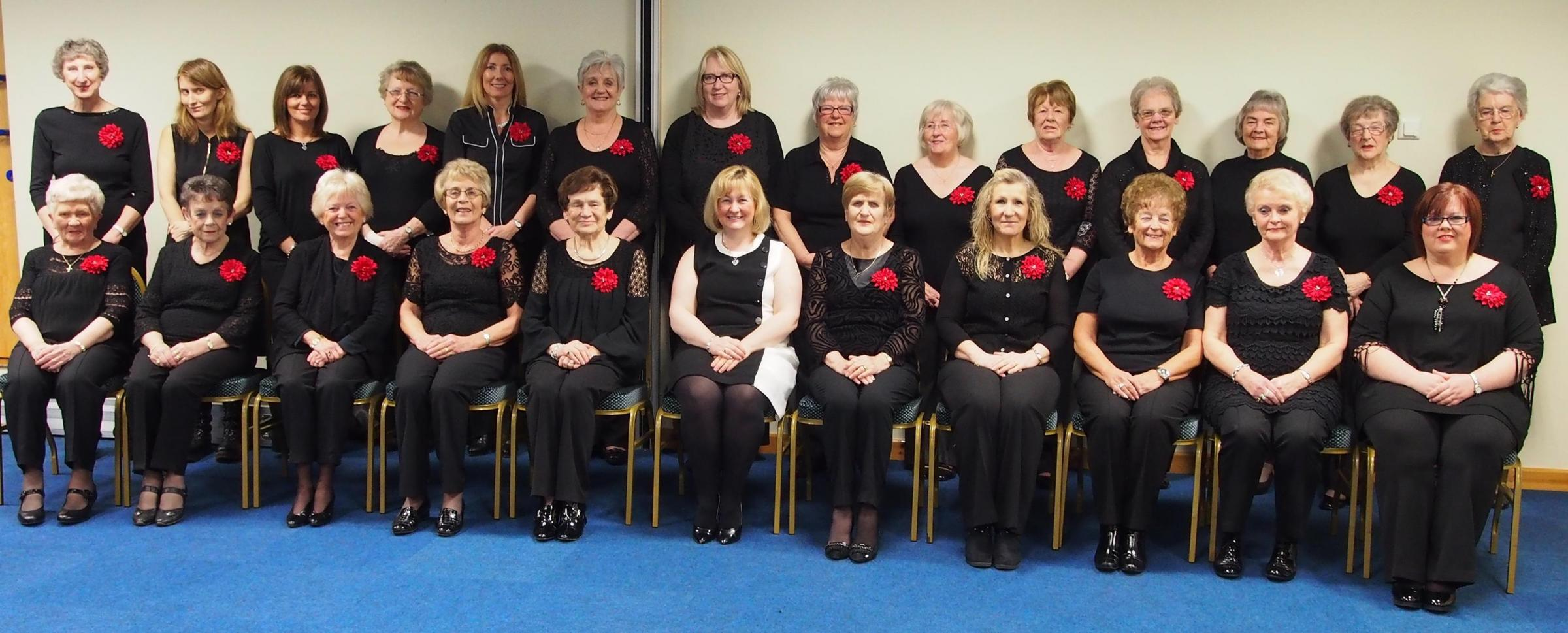 Cor Merched Tybie have been performing in the area for the past three decades
