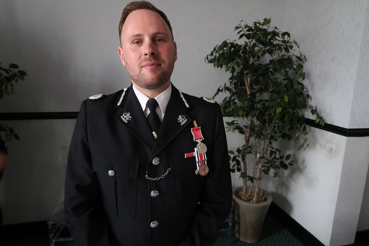 'A true role model': Chief Police Officer honoured
