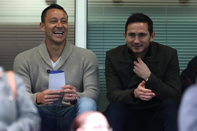 John Terry (left) and Frank Lampard